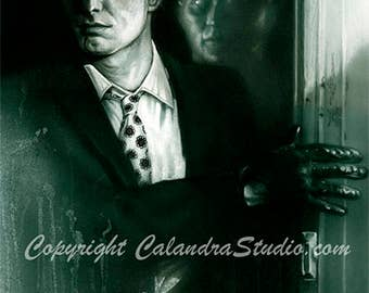 Night of the Living Dead - Johnny Signed 11x14 Print