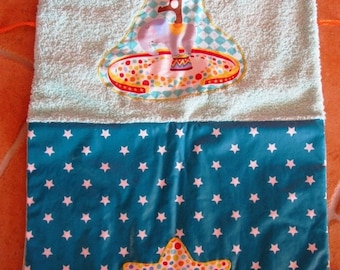 Changing mat CIRCUS star to take everywhere coated cotton