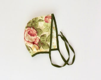 6-12 baby bonnet