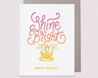 Shine Bright Diwali Card