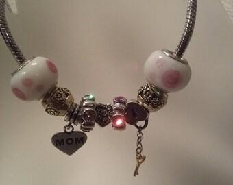 Mother's  charm bracelet