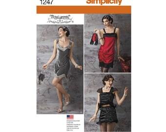 Simplicity 1247 - Flapper Costume