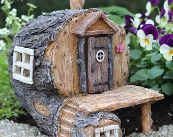 Hidden Hollow Fairy House for Miniature Garden, Fairy Garden