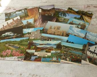Vintage postcards 1980's set 3