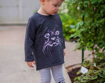 Kids sweatshirt Toddler sweatshirt  Baby boy sweater Baby girl sweater Hipster baby clothes Baby sweats Seal printed fabric Sea wolf print