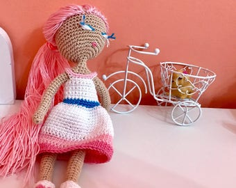 Cute Doll Mermaid Crochet Amigurumi