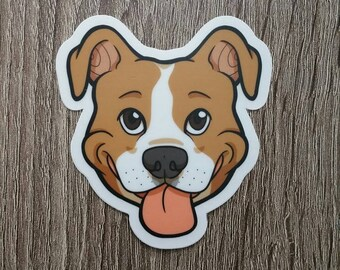 Dog Breed Stickers: American Staffordshire Terrier!