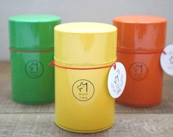 Wolf Tea Original / Tea Canister / Tea Tin / Tea Caddy