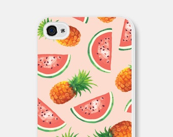 Pineapple iPhone 6 Case - Pink iPhone 6 Case - Watermelon iPhone 6 Case - Pineapple iPhone Case - Pink iPhone 5 Case Pineapple iPhone 5 Case