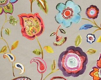 Magnolia Fabrics-ESTHER JEWEL-Fabric by the Yard-Bedding-Drapery-Upholstery-Pillows