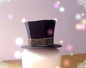 Box lozenge shape Hat theme alice in Wonderland the Mad Hatter
