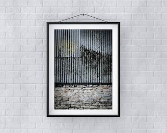 Metallic Textures - Premium Quality – Wall Art - Giclée Print – Urban Art - Martin Sylvester - Sylvo81