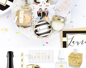 Luxe Bridesmaid Box Set - Bridesmaid Proposal Gift - Asking Bridesmaids - Bridesmaid Card - Wedding Party Gift - Will you be my Bridesmaid
