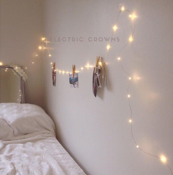 Sale bedroom fairy lights bedroom decor string lights dorm for Room decor with fairy lights
