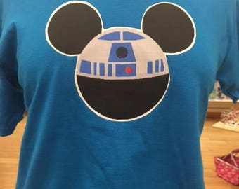 R2D2 tshirt you choose color and size