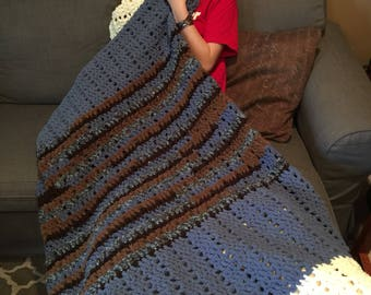 Crochet Couch blanket