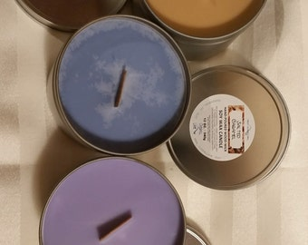 100% Soy Wax Candles ~ Your Choice of Scent