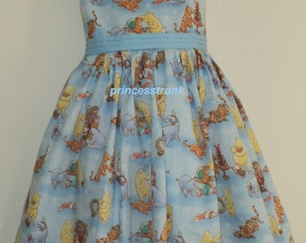 NEW Handmade Classic Winnie the Pooh/Tiger Christmas Dress Deluxe Custom Size