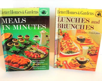 Reto Cookbooks - BHG Cookbooks - 1960's Cookbooks - Better Homes and Gardens Creative Cooking