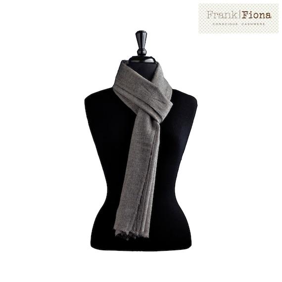 Cashmere scarf knit shawl pashmina shawl aesthetic clothing vegan gift scarf men natural wool fabric nepal cashmere pashmina gift for men 6