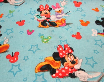 Mini foam cotton fabric with blue cotton fabric Mini foam girl