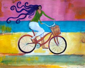 Beach Cruiser - Bicycle Art