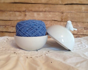 cotton yarn, recycled yarn, knit and crochet, suitable for scarfs, mittens, hats and other
