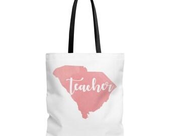 Sc Teacher Tote Bag