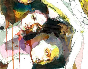 "Limited Edition Fine Art Print ""Txismosas"""