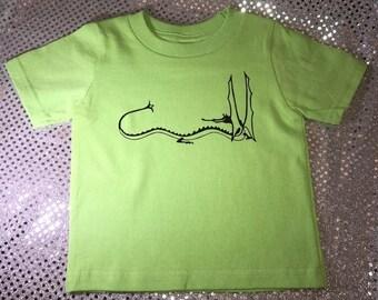Seigneur des anneaux Style Dragon Smaug Hobbit de Tolkien personnalisé T-Shirt personnalisé bébé/enfant en bas âge