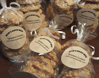Lactation Cookie 1 Month Supply 36 cookies, Increase your milk supply, Breastfeeding cookies | Choose your flavor