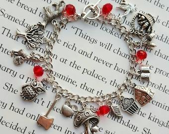 Little Red Riding Hood Charm Bracelet