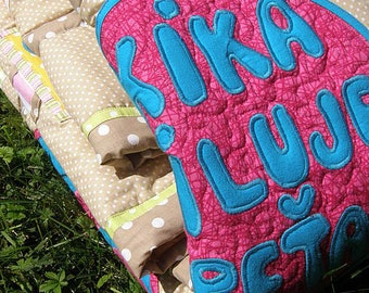 King size quilt - Love the colours...and life No.2