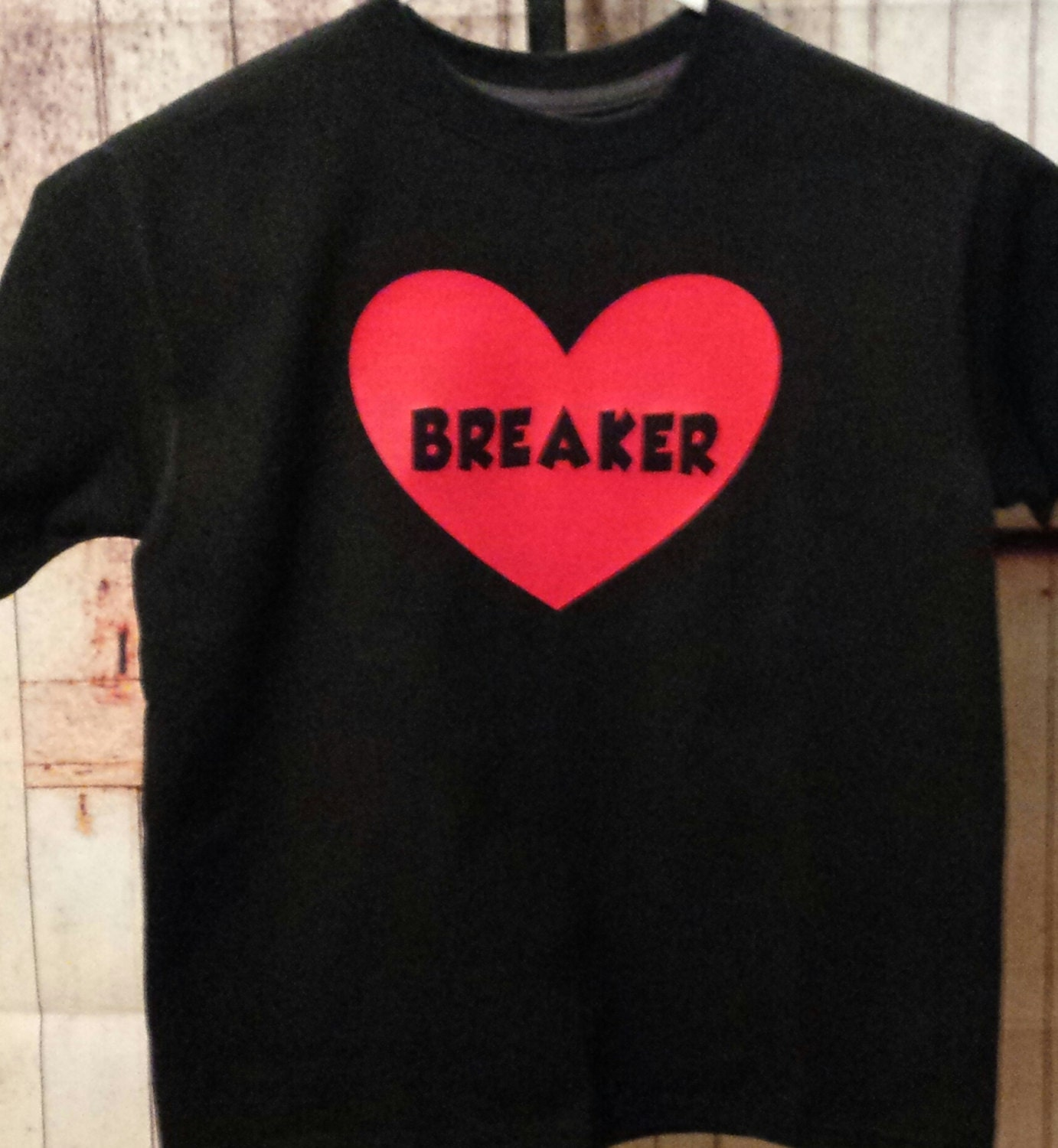 Boy S Valentine S Day T Shirt With Professionally Applied Vinyl