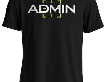 Person of Interest - Harold Finch Admin T-shirt