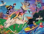 Studio Ghibli Tribute ART...