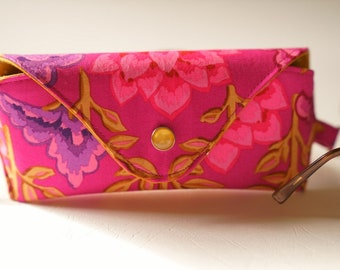 NEW Glasses case/ Eyeglasses case/ sunglasses case/ reading glasses case/Kaffe Fassett/Mughal