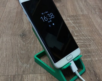 Smartphone Docking Station Iphone Stand Smartphone Holder Phone Docking Gift for Colleague Gift for Him Gift for Her