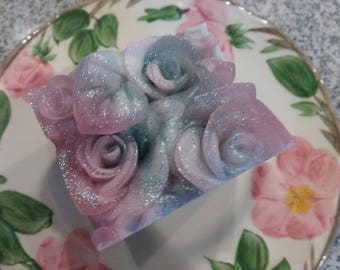 Fairy Roses Handcrafted Glycerin Soap