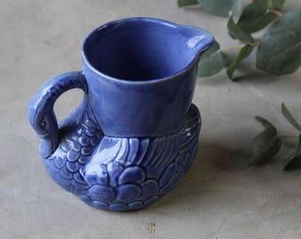 Blue Swan Jug