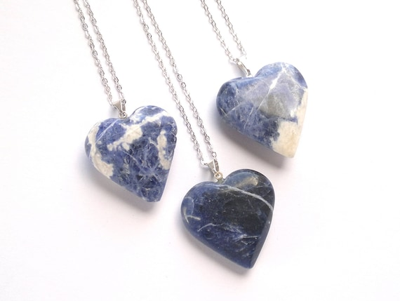 crystal balance sodalite necklace harmony creativity intuition for amazon sense sixth dp inspiration raw com pendant authentic