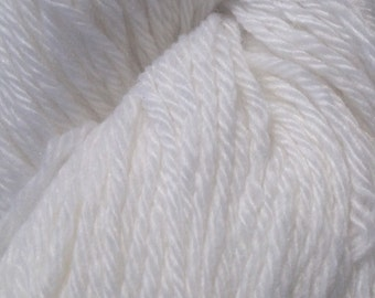 Pure Mongolian White Cashmere DK Weight 4-ply Yarn
