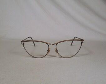 fabulous vintage sunglasses lunettes eyeglasses 1970 cat eye carved frame france
