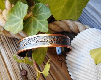 Live Laugh Love Bracelet, Inspirational Jewelry, Inspirational Gifts, Gifts for Women, Copper Jewelry, Words to Live by, Ready to Ship Gift