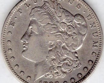 1892-S Morgan Silver Dollar (M92S)