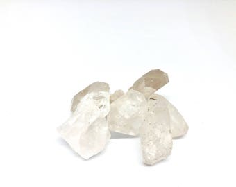 Raw Clear Quartz stones