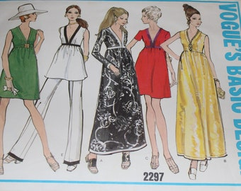 Vogues Basic Design sewing pattern size 14