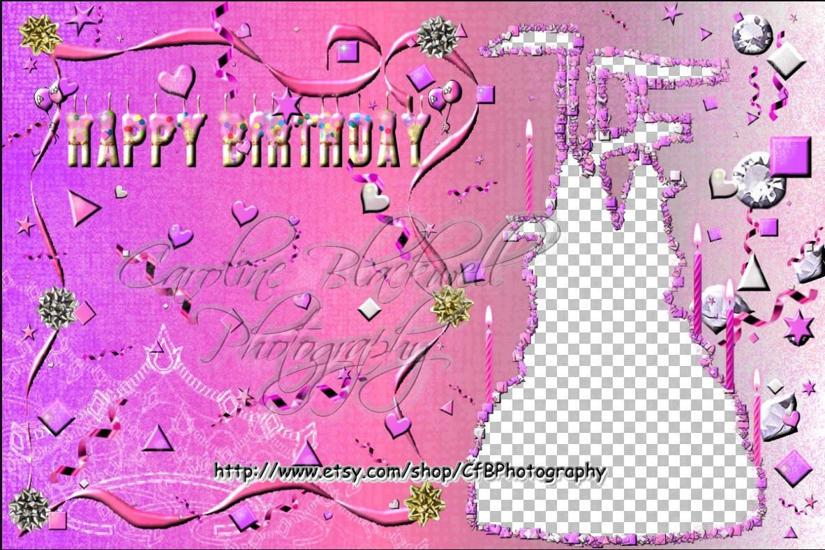 Birthday frames for boys and girls png files photoshop zoom jeuxipadfo Images