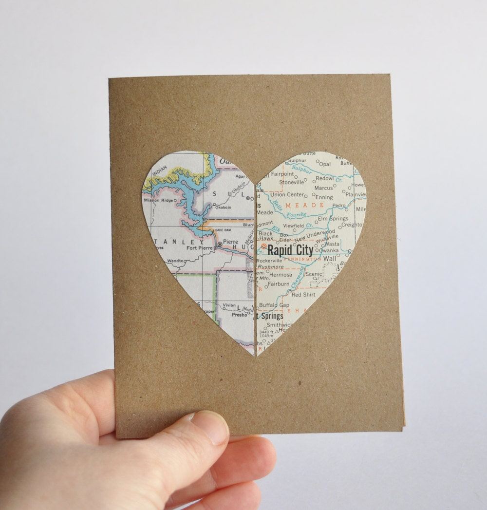 Personalized Valentine Card Valentines Day Card Long Distance