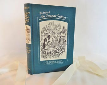 The Story of the Treasure Seekers by E Nesbit / 1993 The Folio Society, London / With Reproduced Drawings From the 1947 Edition by CW Hodges